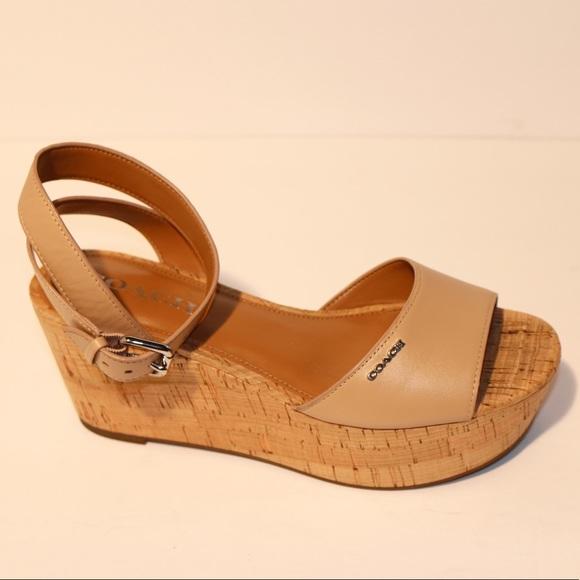 d8155a708c7c Coach Shoes - Coach Becka Open Toe Casual Platform Sandals